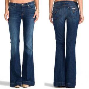 Hudson for Nordstrom Ferris bootcut blue jeans 25